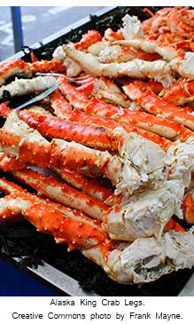 2016 0906 Alaskan King Crab caption CC by Frank Mayne