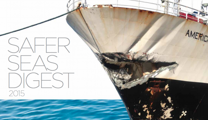 The Safer Seas Digest can be a great resource for crew training and safety meetings.