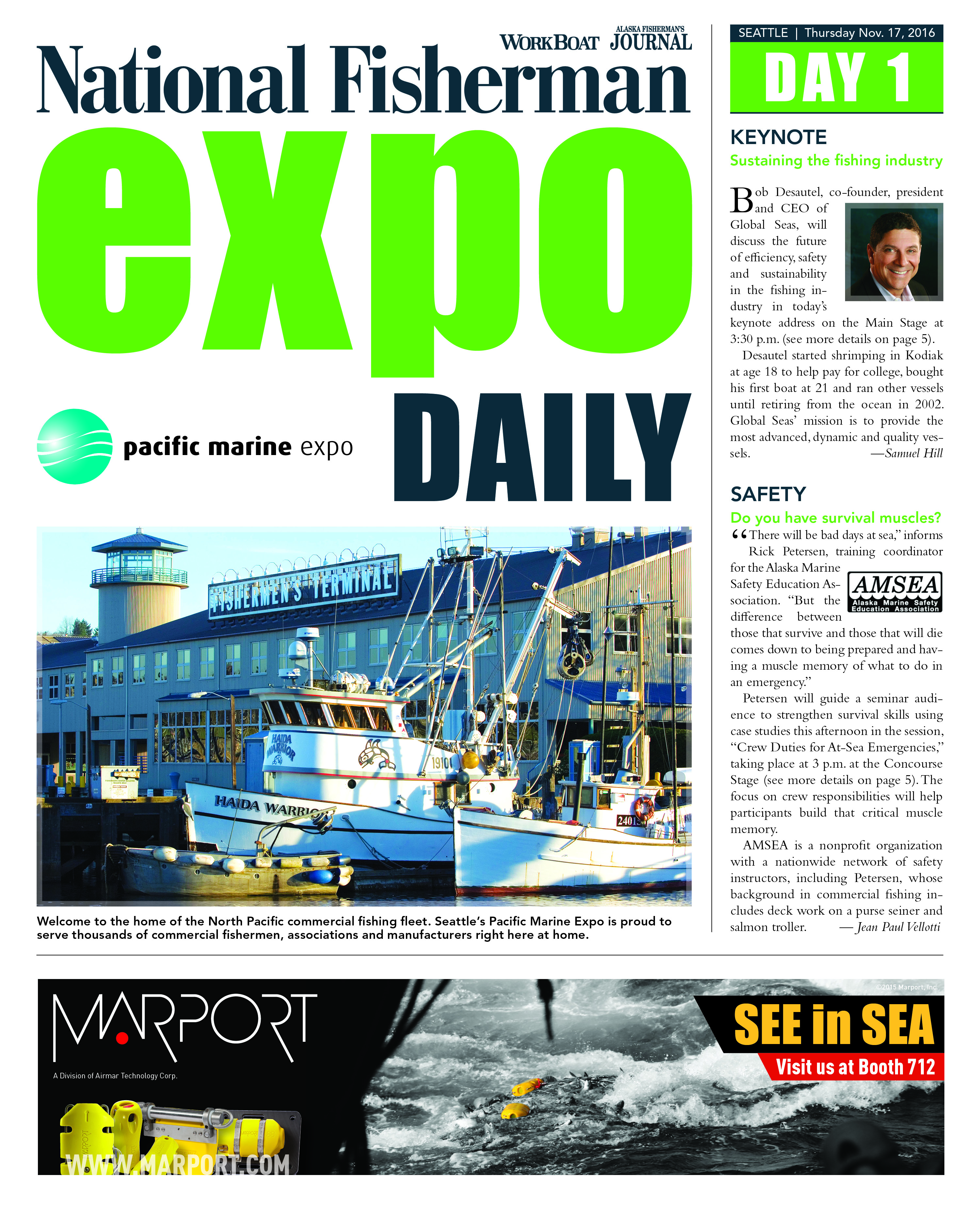 PME17 Expo Daily Day 1 CVR