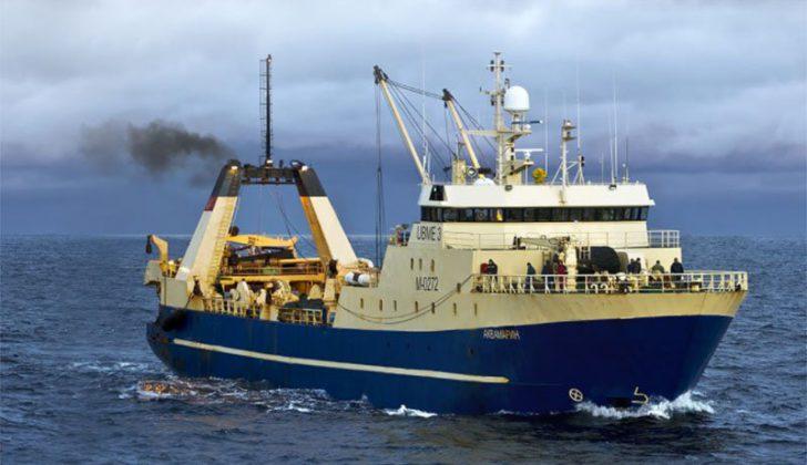 The Norebo trawler Aquamarin. Norebo photo.