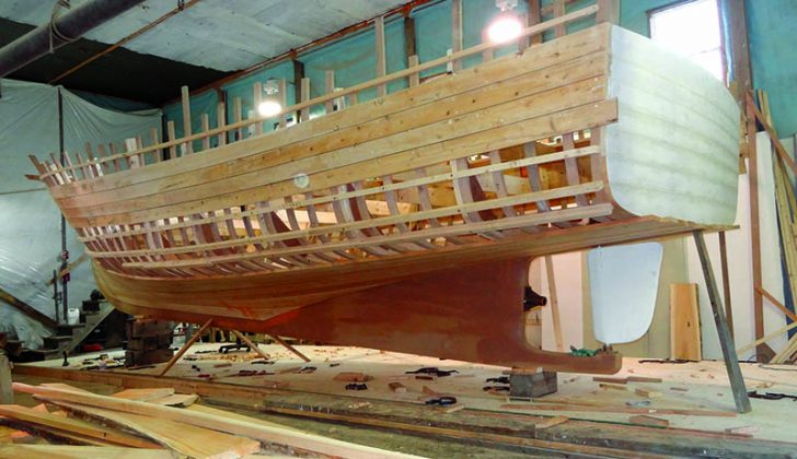 Smaller wooden lobster boat offers intriguing test for for Building a house in maine
