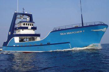 The Patti Marine-built Sea Watcher I. Patti Marine photo.