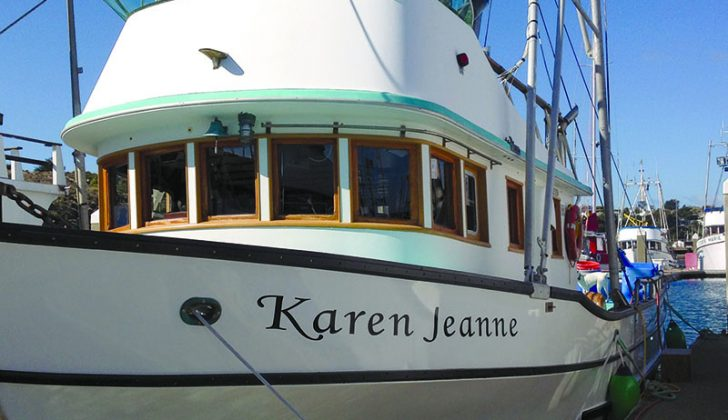 The Karen Jeanne. Dick Ogg photo.