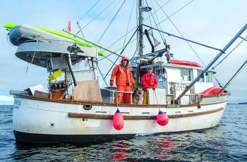 The F/V Woodstock, a blackcod and halibut longliner out of Sitka, Alaska. Photo by Joshua Roper/Alaska Seafood Marketing Institute.