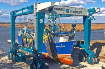 Yank Marine brings 820-ton Travelift hoist to the mid-Atlantic
