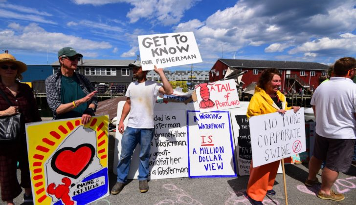 Zone defense: A rally for Portland's waterfront