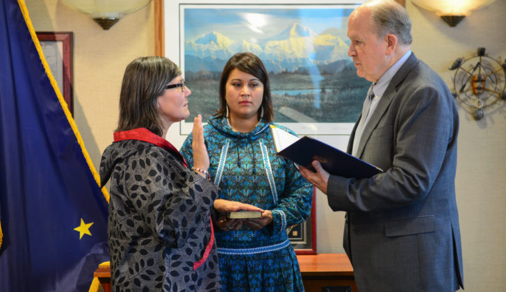 Alaska's lieutenant governor resigns abruptly