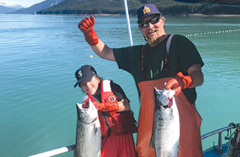 Salmon fisheries on the line