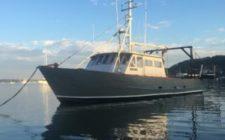 50′ Steel Commercial Crab Dredge Boat