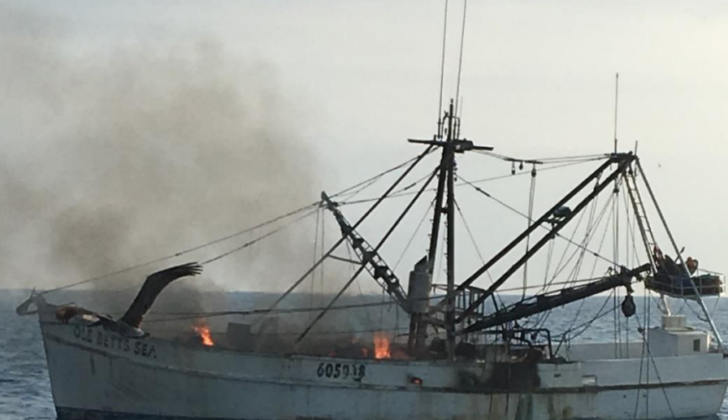 NTSB: Mechanical failure caused fire on Gulf of Mexico shrimper