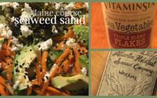 Seaweed matters: Seaweed salad, the entrée