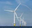 Ørsted's Burbo Bank Extension Wind Farm in the Irish Sea. The Denmark-based energy company will develop 1,100 MW of wind energy east of Atlantic City, N.J. Ørsted photo