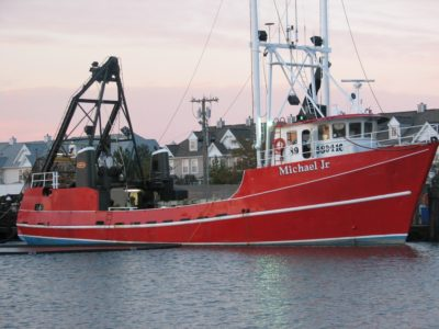 The surf clam industry got its start in New Jersey and much of the industry is based there, like the clamming vessel Michael Jr. LaMonica Fine Foods photo