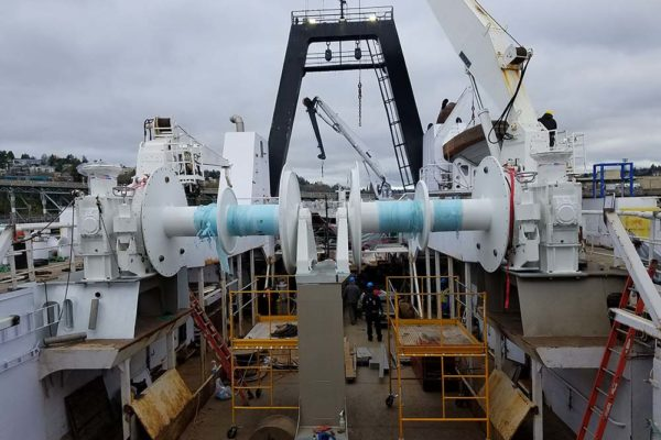Naust Marine offers complete deck machinery solutions