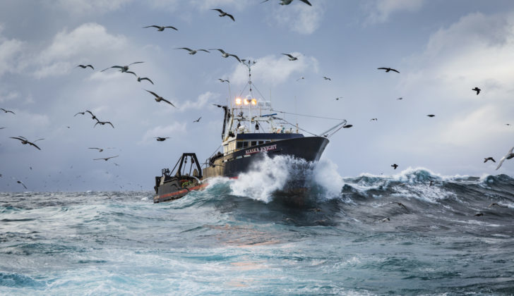 Bering Sea trawlers like the Alaska Knight will be able to catch cod in 2020, but the Gulf of Alaska will be closed except for a small state waters fishery. Corey Arnold photo.