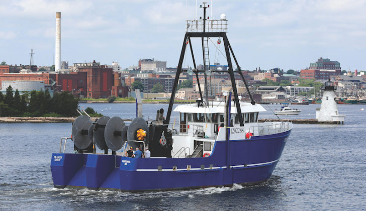 Francis Dawn is newest Maine dragger